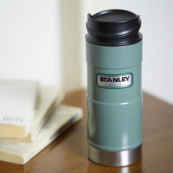 スタンレー STANLEY クラシック真空ワンハンドマグ 0.35L 水筒 アウトドア 保温 保冷 ステンレスボトル|3244p