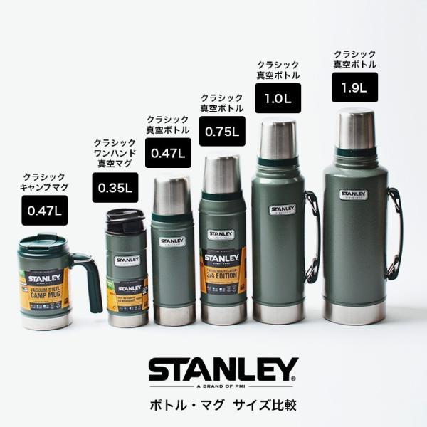 スタンレー STANLEY クラシック真空ワンハンドマグ 0.35L 水筒 アウトドア 保温 保冷 ステンレスボトル|3244p|16