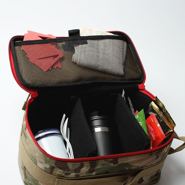Oregonian Camper セミハード ギアバッグ M SEMI HARD GEAR BAG コヨーテ 調味料入れ 食器入れ 小物入れ 収納 US USAブランド|3244p|13