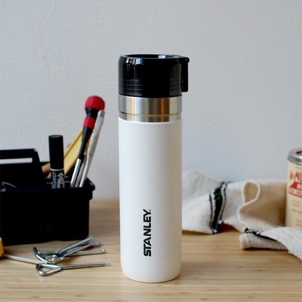 スタンレー STANLEY ゴーシリーズ 真空ボトル0.7L マットブラック ホワイト マットグリーン 3244p 02