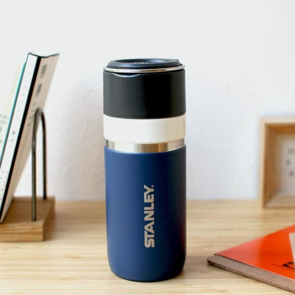 スタンレー STANLEY ゴーシリーズ セラミバック 真空ボトル 0.47L サーモンピンク ネイビー ミントグリーン チャコールグレー 保冷 保温|3244p|04