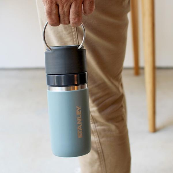 スタンレー STANLEY ゴーシリーズ セラミバック 真空ボトル 0.47L サーモンピンク ネイビー ミントグリーン チャコールグレー 保冷 保温|3244p|06