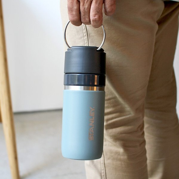 スタンレー STANLEY ゴーシリーズ セラミバック 真空ボトル 0.47L サーモンピンク ネイビー ミントグリーン チャコールグレー 保冷 保温|3244p|07