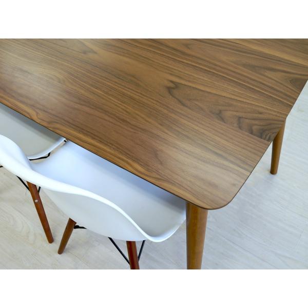 ダイニングテーブルセット 5点 4人 ダイニングテーブルW1200 シェルチェア 4脚 TAC-242WAL、MTS-032(BR)IV 3244p 04