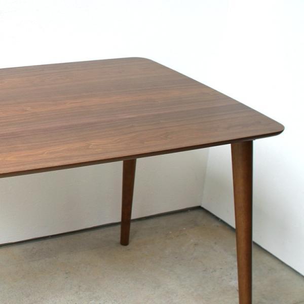 ダイニングテーブルセット 5点 4人 ダイニングテーブルW1200 シェルチェア 4脚 TAC-242WAL、MTS-032(BR)IV 3244p 09