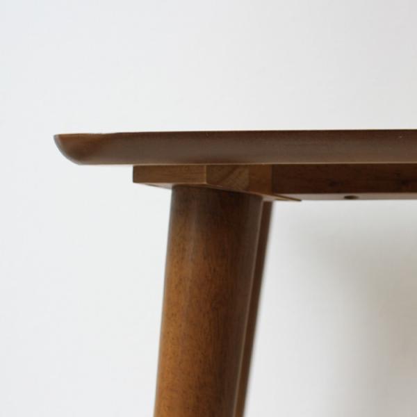 ダイニングテーブルセット 5点 4人 ダイニングテーブルW1200 シェルチェア 4脚 TAC-242WAL、MTS-032(BR)IV 3244p 10