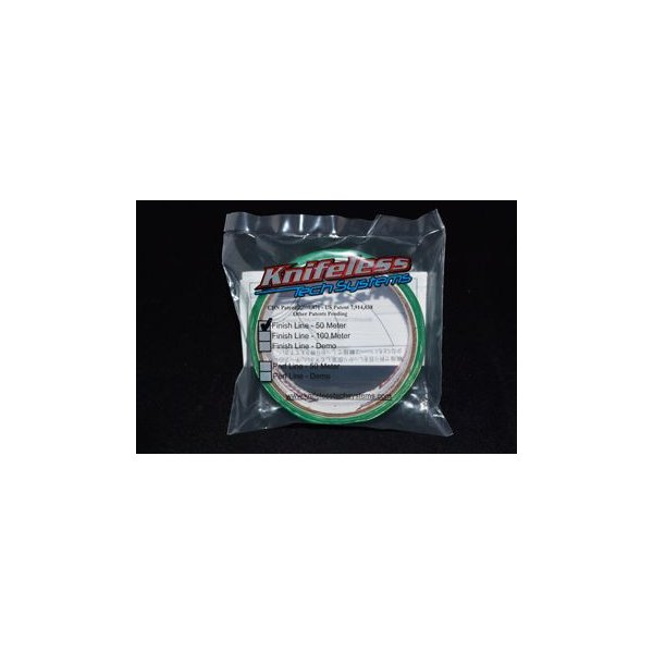 ナイフレス・フィニッシュラインテープ Knifelessラップフィルム用カットテープ3.5mm×50m 1巻入|3333-mmmstore