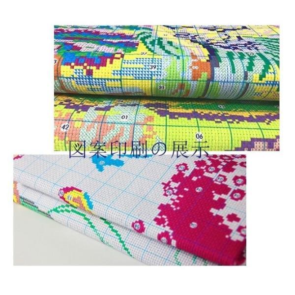 クロスステッチ 刺繍キット 花卉3点セット 初心者 簡単 刺繍 送料無料 指ぬき 糸通し付き|34618|06