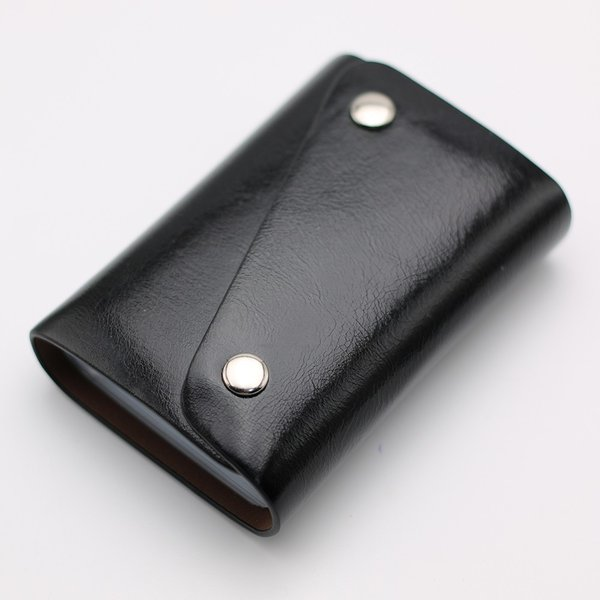 カードケース 20枚収納 全9色 磁気防止 レザー スリム カード入れ 男女兼用 kk1816|34618|02