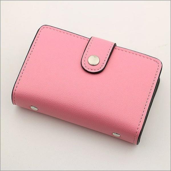 カードケース 磁気防止 薄型 レザー 大容量 カード入れ  全9色 22枚収納 男女兼用 ギフトケース付 プレゼント ハンドスピナー付属|34618|03