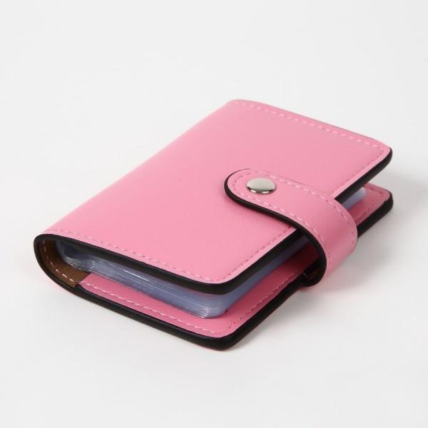 カードケース 磁気防止 薄型 レザー 大容量 カード入れ  全9色 22枚収納 男女兼用 ギフトケース付 プレゼント ハンドスピナー付属|34618|05