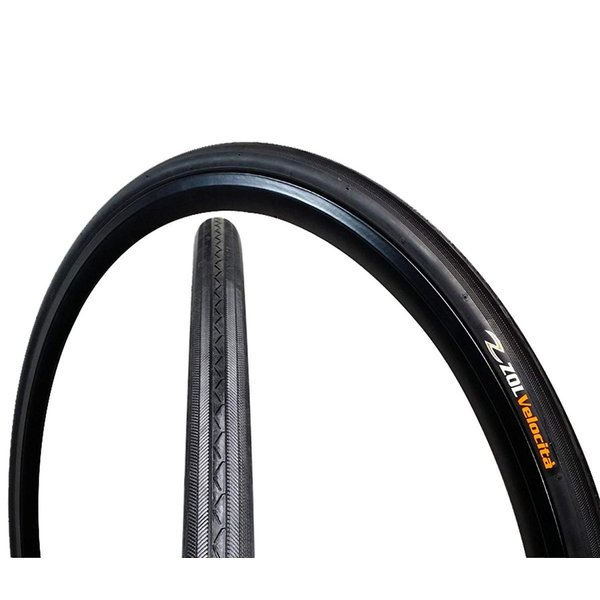 Zol Bundle 2 Pack Z1076 Road Tires and Tube 700x25C Presta//French 60 MM Valve