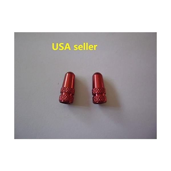 Red Seller* *U.S.A Presta Valve Cap