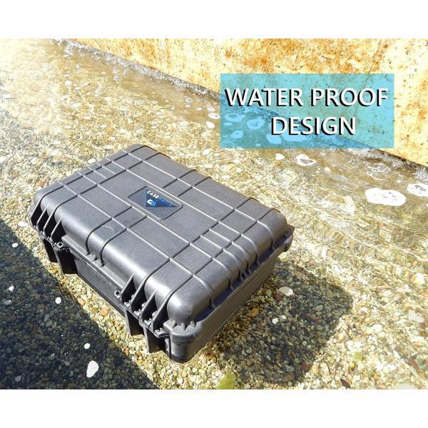 CASEMATIX Waterproof Marine Electronics and Accessory FishFinder Case