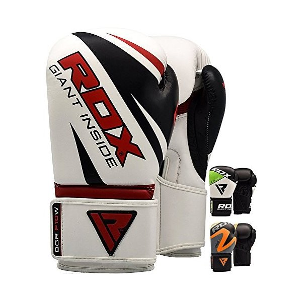 Leather Boxing Gloves Muay Thai Punching Bag Sparring Glove Kick Boxing MMA