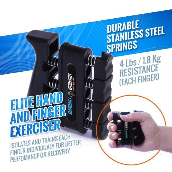 Adjustable Resistance... 4 Pack Hand Grip Strengthener Workout