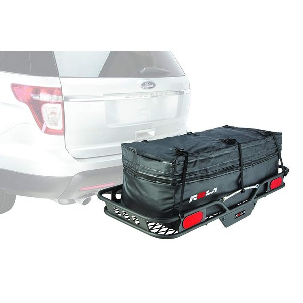 Expandable Hitch Tray Carrier Rainproof ROLA 59102 Wallaroo Cargo Bag