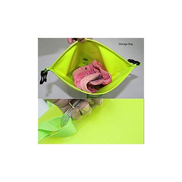 20L Storage Swimming Life-Saving Dry Drift Bag for Kayakers Highly Visible Buoy Float for Safe Swim Training Agirlgle Swim Buoy Swim Bubble for Open Water Swimmers and Triathletes