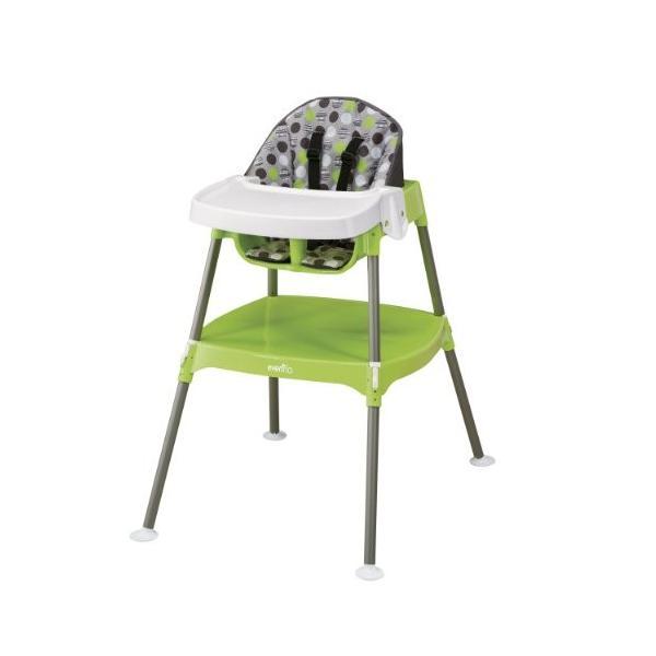 Evenflo Convertible High Chair, Dottie Lime|36hal01|02