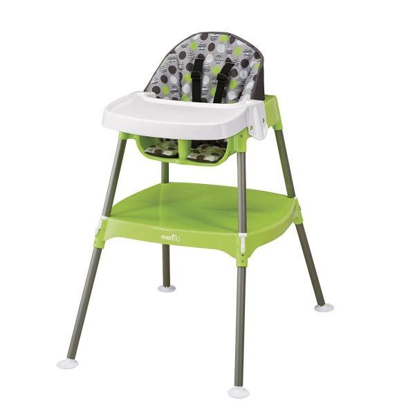 Evenflo Convertible High Chair, Dottie Lime|36hal01|03