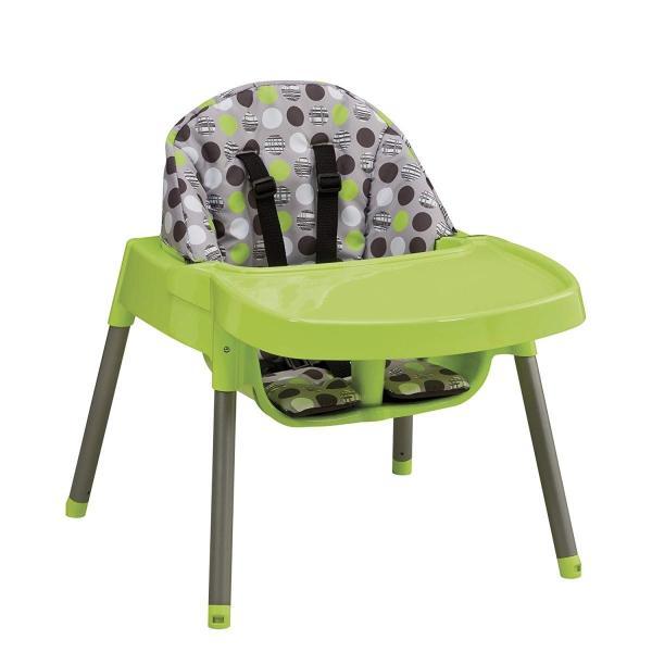 Evenflo Convertible High Chair, Dottie Lime|36hal01|04