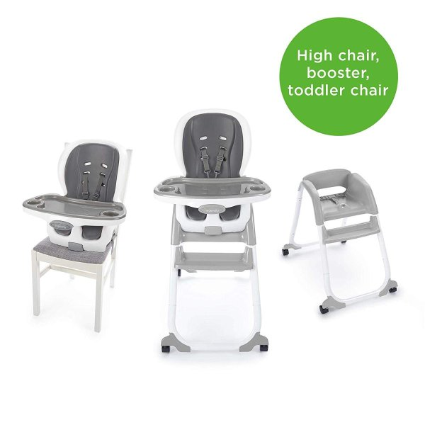 Ingenuity SmartClean Trio Elite 3-in-1 High Chair - Slate - High Chair|36hal01|03