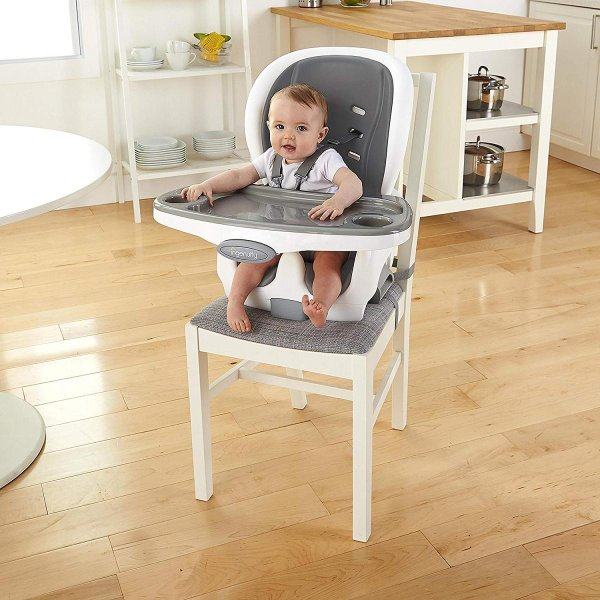 Ingenuity SmartClean Trio Elite 3-in-1 High Chair - Slate - High Chair|36hal01|04