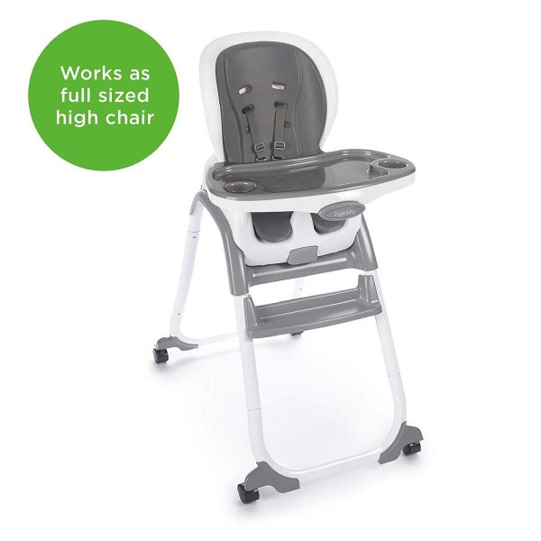 Ingenuity SmartClean Trio Elite 3-in-1 High Chair - Slate - High Chair|36hal01|07