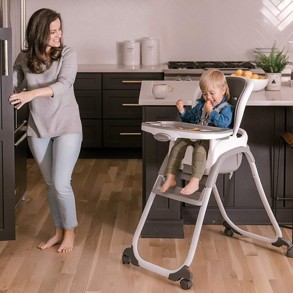 Ingenuity SmartClean Trio Elite 3-in-1 High Chair - Slate - High Chair|36hal01|09