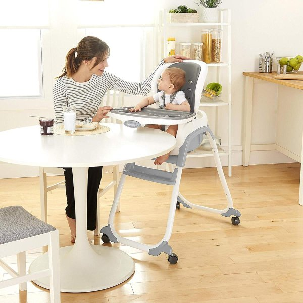 Ingenuity SmartClean Trio Elite 3-in-1 High Chair - Slate - High Chair|36hal01|10