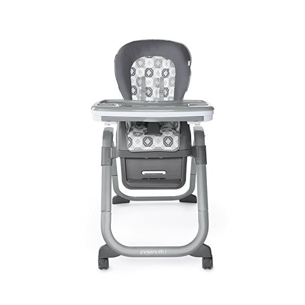 Ingenuity SmartServe 4-in-1 High Chair with Swing Out Tray ? Clayton ?|36hal01|12