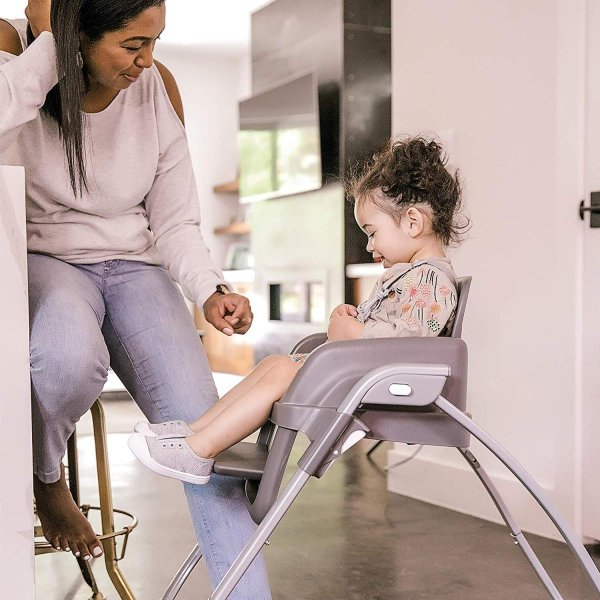 Ingenuity SmartServe 4-in-1 High Chair with Swing Out Tray ? Clayton ?|36hal01|14