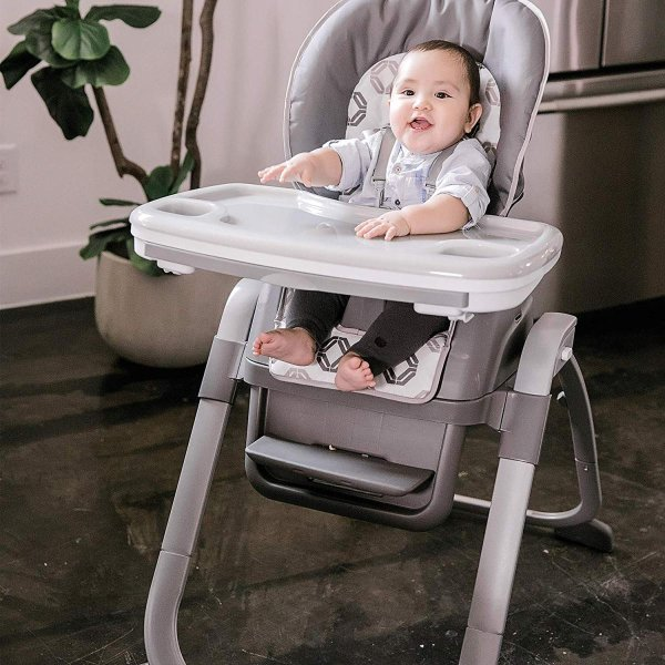 Ingenuity SmartServe 4-in-1 High Chair with Swing Out Tray ? Clayton ?|36hal01|15