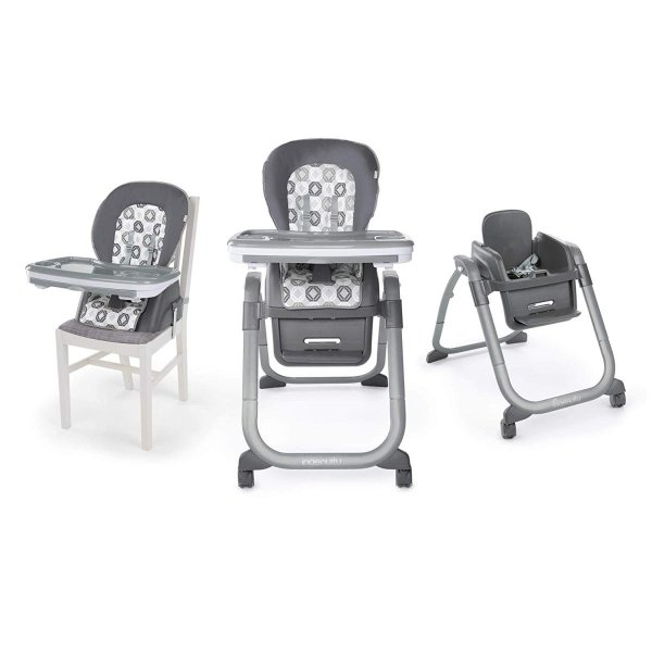 Ingenuity SmartServe 4-in-1 High Chair with Swing Out Tray ? Clayton ?|36hal01|17