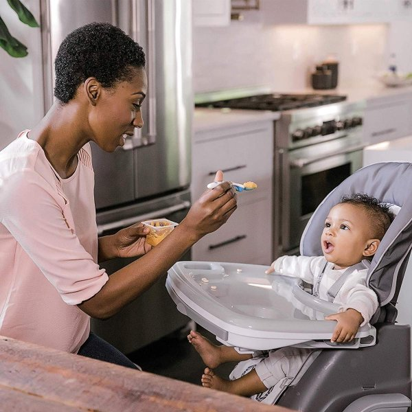 Ingenuity SmartServe 4-in-1 High Chair with Swing Out Tray ? Clayton ?|36hal01|06