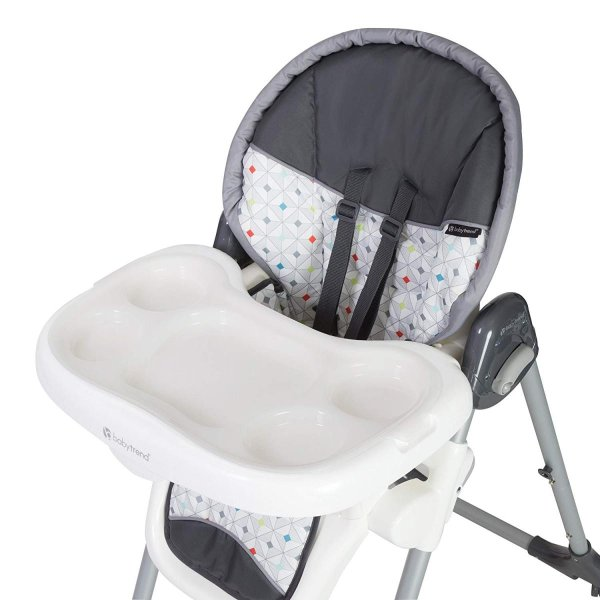 Baby Trend Deluxe 2 in 1 High Chair, Diamond Geo|36hal01|05