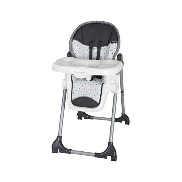 Baby Trend Deluxe 2 in 1 High Chair, Diamond Geo|36hal01|06