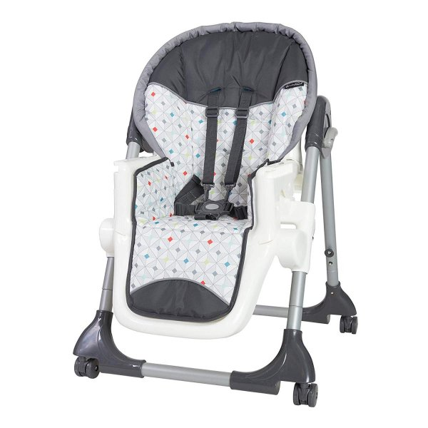 Baby Trend Deluxe 2 in 1 High Chair, Diamond Geo|36hal01|07
