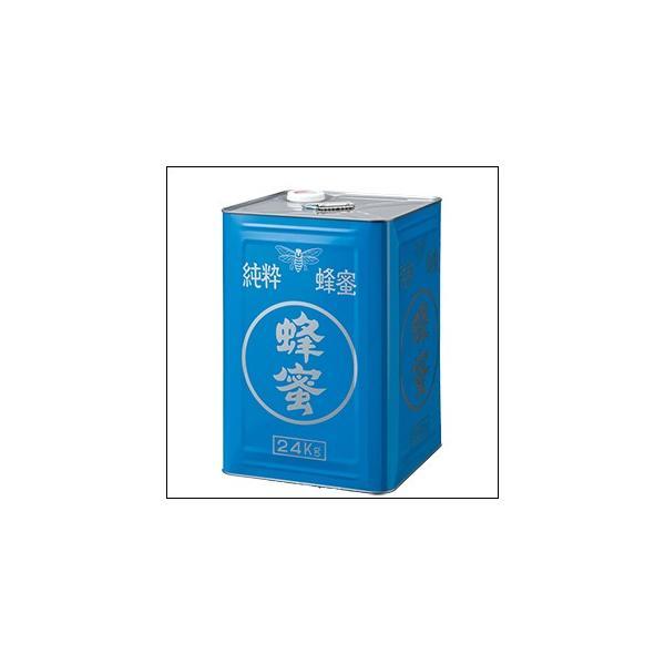 はちみつ 業務用 中国産レンゲはちみつ24kg缶詰 受注生産品