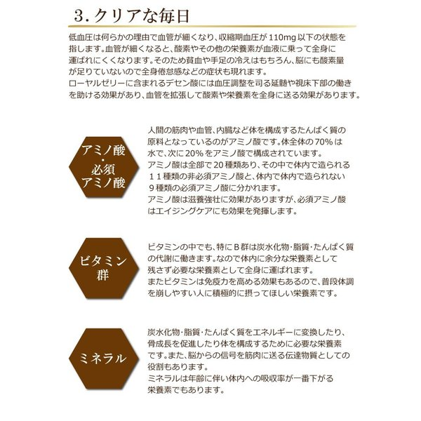 送料無料 300円均一 お試し サプリ ローヤルゼリー 美容 エイジングケア アミノ酸 必須アミノ酸 スタミナ補給 ポイント消化 初売り セール|39genki1|04