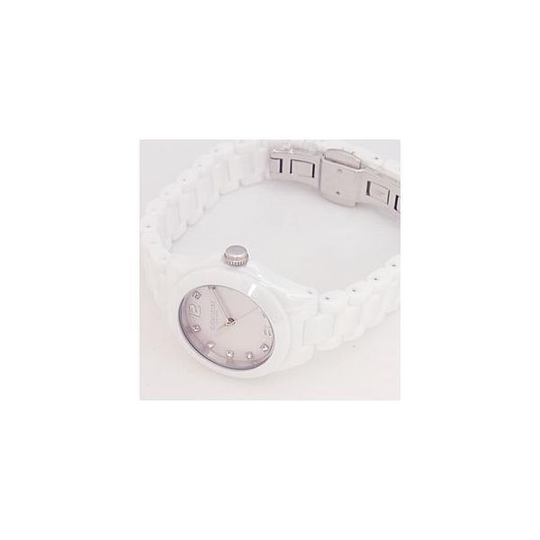 f76b9b726c ... コーチ 腕時計 レディース COACH トリステン ミニ セラミック Tristen Mini Ceramic ピンクパール(シェル)  14502154 ...