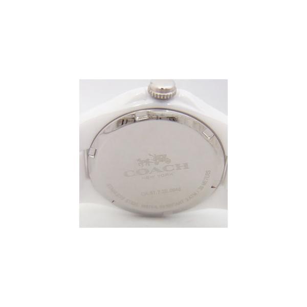 296f42de55 ... コーチ 腕時計 レディース COACH トリステン ミニ セラミック Tristen Mini Ceramic ピンクパール(シェル)  14502154