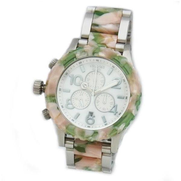 NIXON ニクソン メンズ腕時計 レディース腕時計 42-20 クロノグラフ ミントジュレ 男女兼用 A0371539 A037-1539 D|39surprise