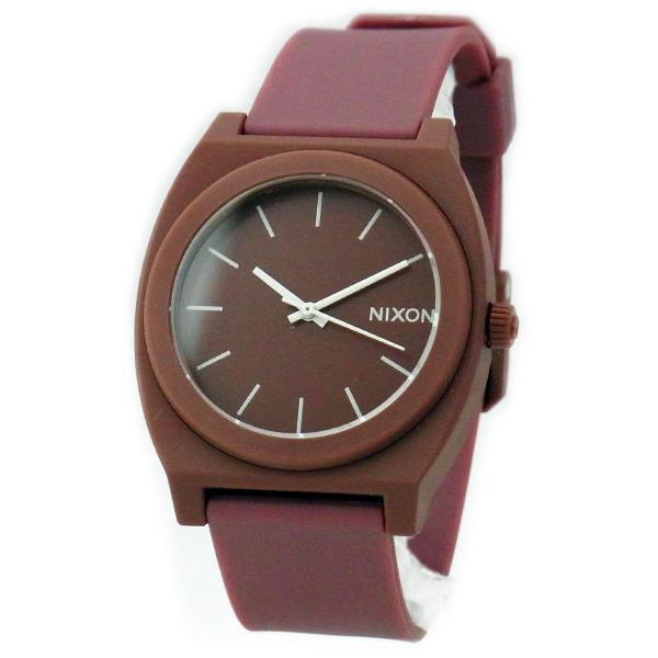 NIXON ニクソン メンズ腕時計 レディース腕時計 THE TIME TELLER P タイムテラー マットボルドー ブラウン系 A1191024 A119-1024|39surprise