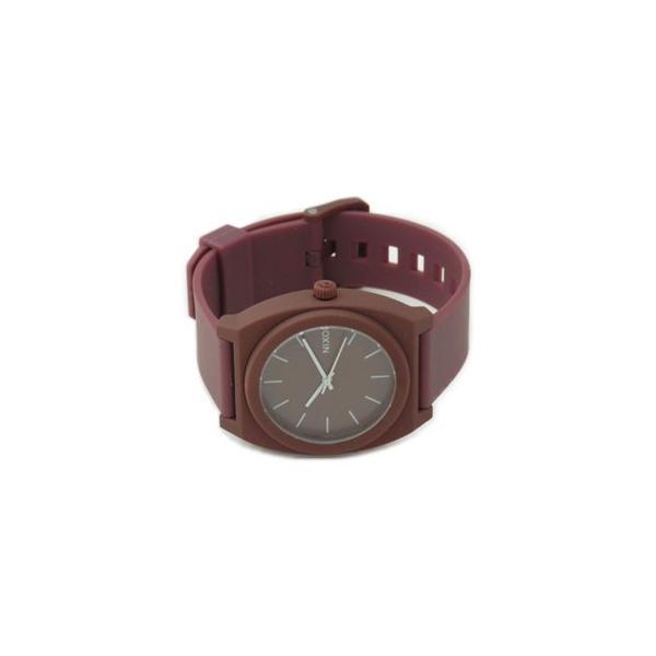 NIXON ニクソン メンズ腕時計 レディース腕時計 THE TIME TELLER P タイムテラー マットボルドー ブラウン系 A1191024 A119-1024|39surprise|02