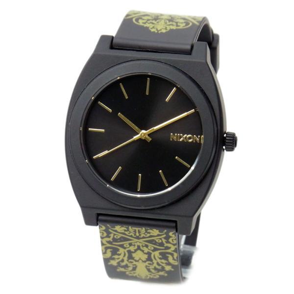 NIXON ニクソン メンズ腕時計 レディース腕時計 THE TIME TELLER P タイムテラー ブラック/ゴールドオルネート A1191881 A119-1881|39surprise
