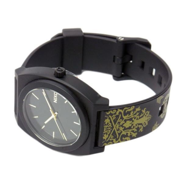 NIXON ニクソン メンズ腕時計 レディース腕時計 THE TIME TELLER P タイムテラー ブラック/ゴールドオルネート A1191881 A119-1881|39surprise|02