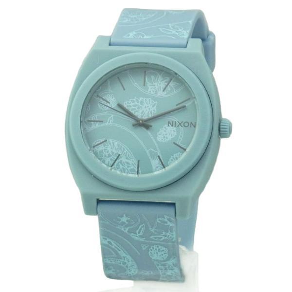 NIXON ニクソン メンズ腕時計 レディース腕時計 THE TIME TELLER P タイムテラー ライトブルー/ペイスリー A1191973 A119-1973|39surprise