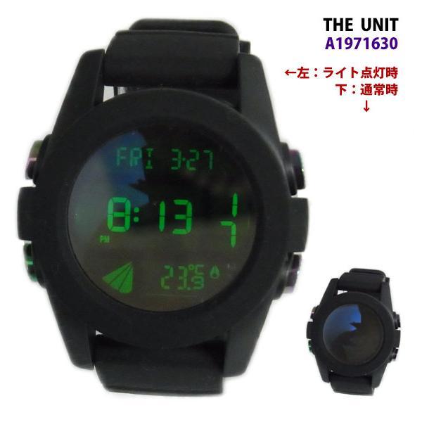 NIXON ニクソン メンズ腕時計 THE UNIT ユニット ブラック/コスモス デジタルウォッチ メンズウォッチ 男性用 A1971630 A197-1630|39surprise