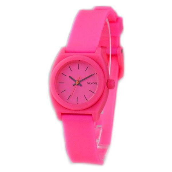NIXON ニクソン レディース腕時計 Small Time Teller P スモールタイムテラー ホットピンク レディースウォッチ 女性用 A425221 A425-221|39surprise